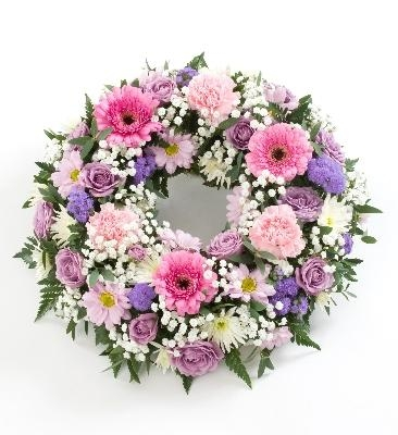 * Open Order Funeral Wreath