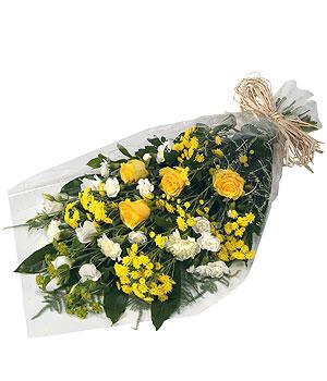 Sympathy Bouquet  Yellows