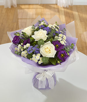 Amethyst Hand tied bouquet