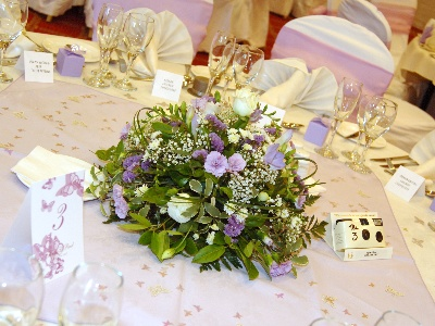 Table centre posy
