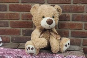 Twinkle eye beige teddy