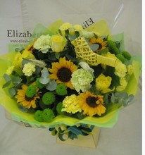 The Canaries Hand tied bouquet