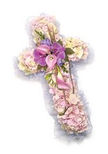 Small Cross Pink and Lilac