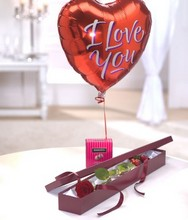 Perfection Chocolates and Balloon Gift Set